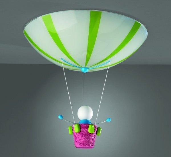 Lampa sufitowa w nietuzinkowej formie