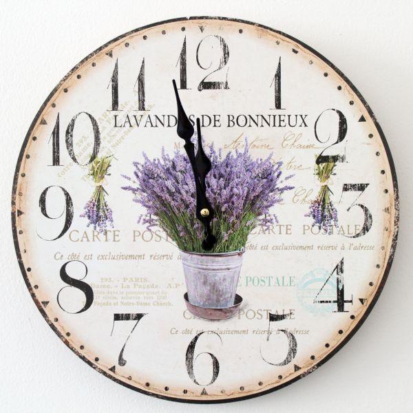 A co sądzicie o tym lawendowym zegarze?