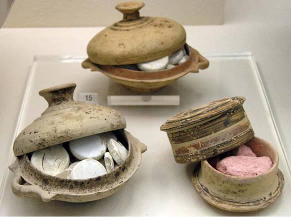 Starożytne barwniki do ust