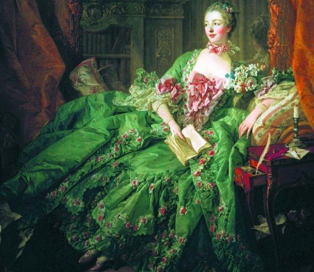 Za panowania Ludwika XV, na dworze francuskim nie unikano barwnych makijaży