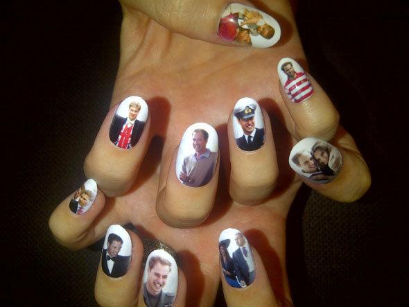 Zdjęcia na paznokciach