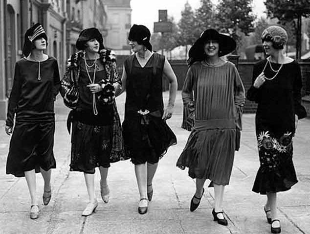 Pięć sukienek z lat 20