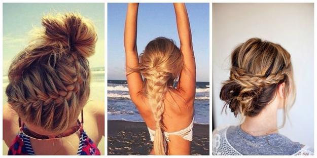 Włosy latem