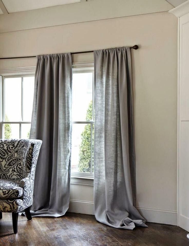 Zasłony w oknach nadadzą wnętrzu przytulności