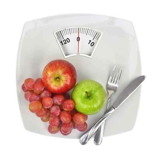 Spadek wagi uzależniony jest od wprowadzenia zrównoważonej diety