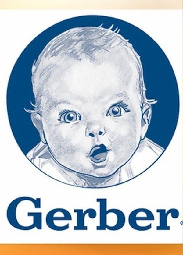 Słynne logo firmy Gerber