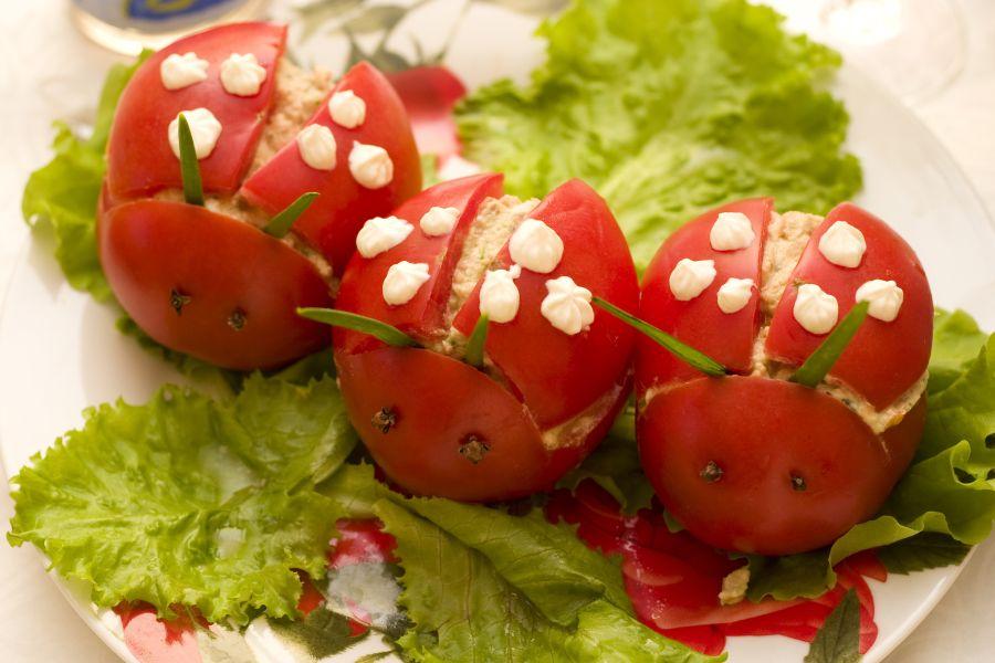 Posiłki przygotowywane dla niejadka powinny być estetyczne i kolorowe