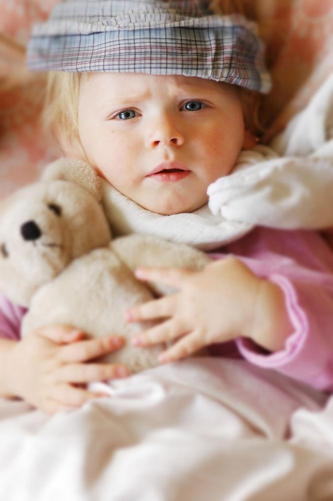 Kaszel suchy męczy dzieci szczególnie w nocy