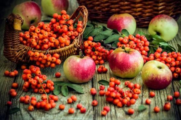 Wypieki z jabłkami