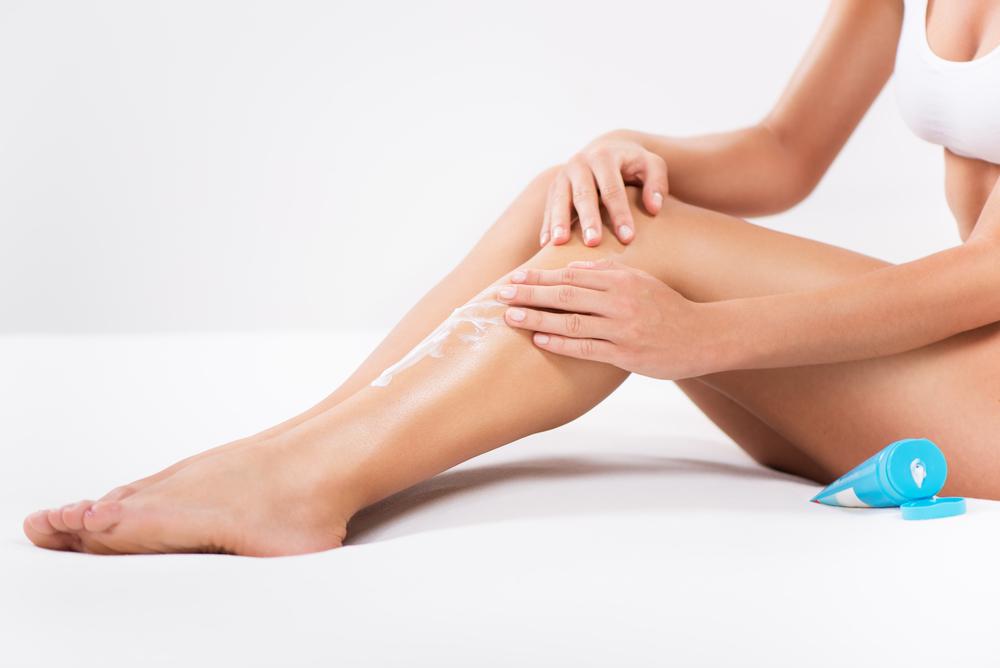 Po kąpieli warto natrzeć ciało balsamem lub olejkiem do ciała