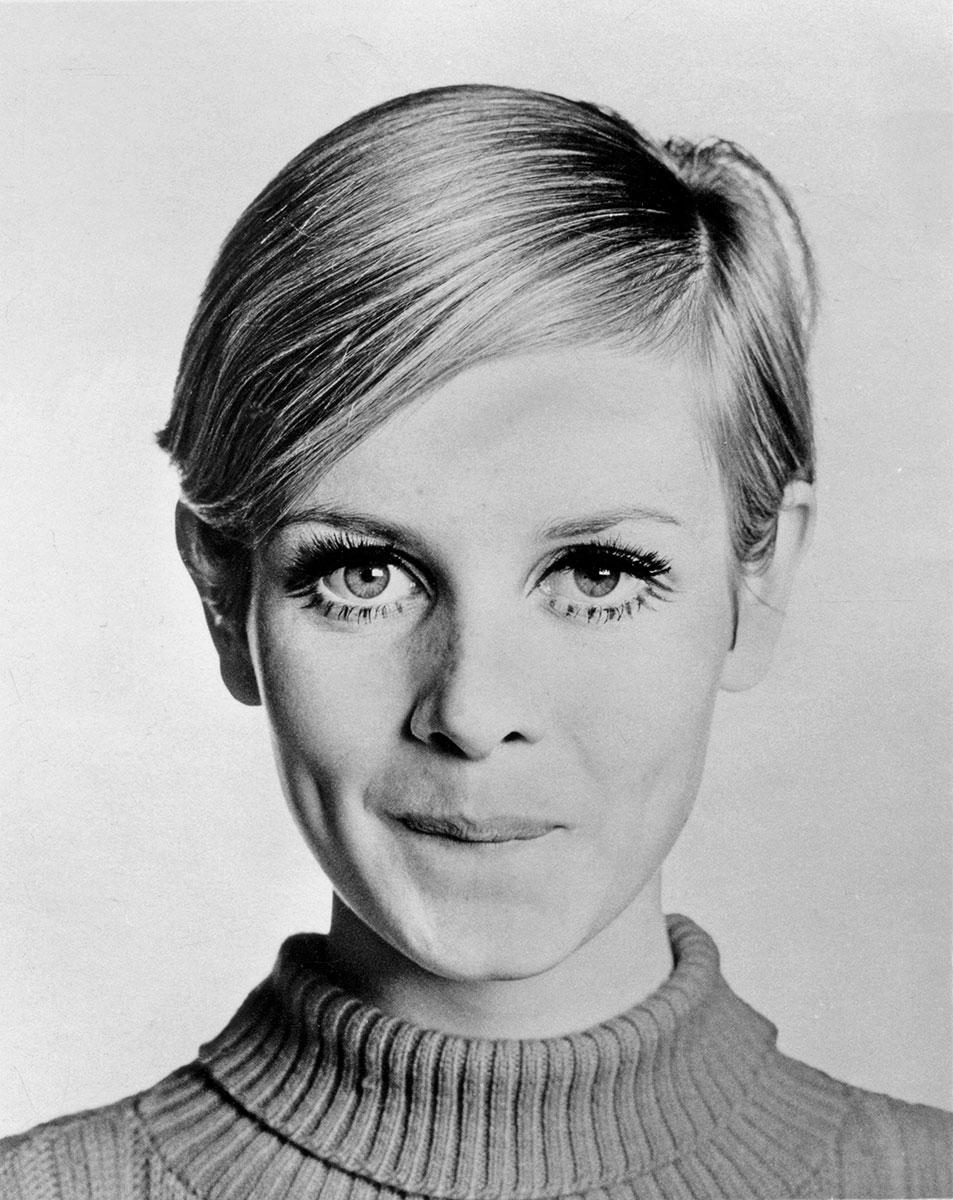 Makijaż lat 60 - Twiggy