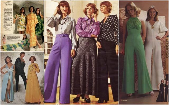 Moda - lata 70