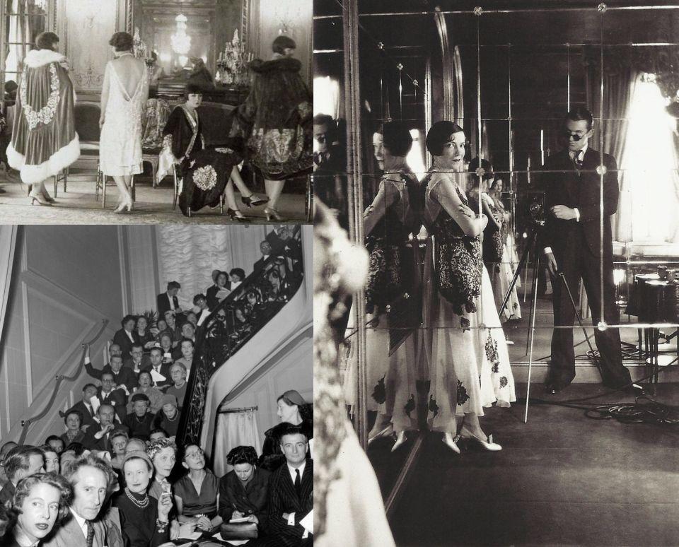 Pokazy i projektanci mody w XX wieku