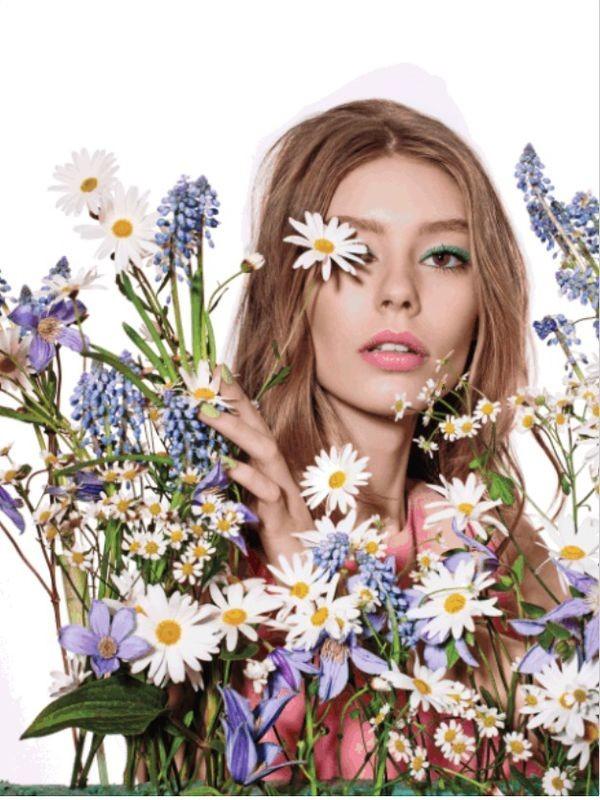 Makijaż oczu na wiosnę