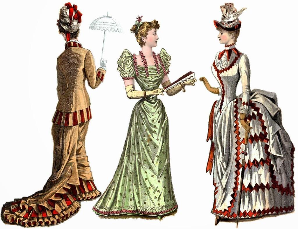 Pierwsze żurnale ukazywały modelki w sposób nierealny. Posiadały one zbyt wąskie talie, idealne twarze, nienaturalnie małe rączki i stopy.