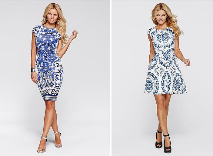 W tym sezonie modne okażą się wzorzyste sukienki