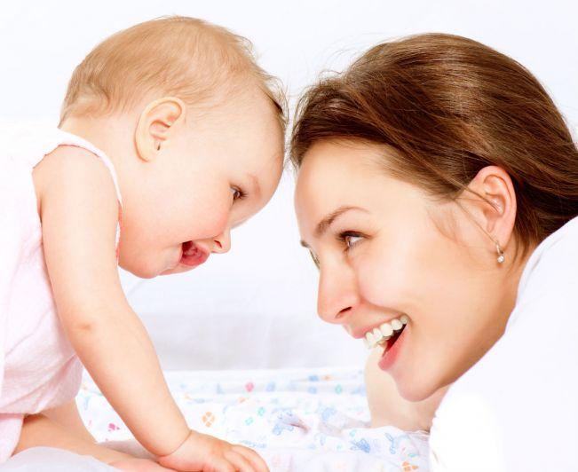 Obecność mamy jest niezastąpiona w przypadku wspierania rozwoju malucha
