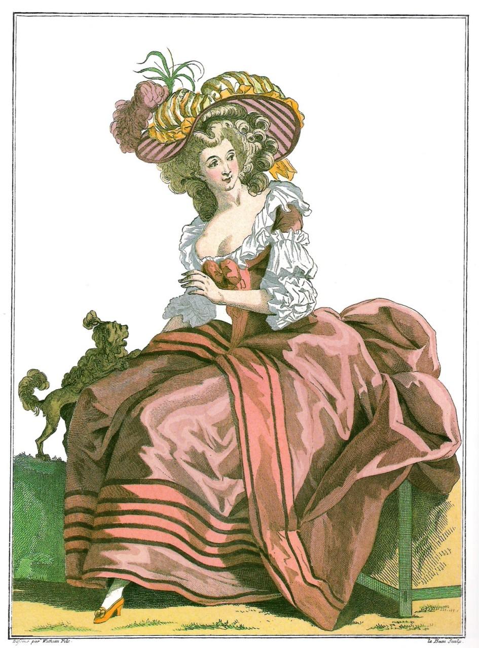 Moda - osiemnasty wiek