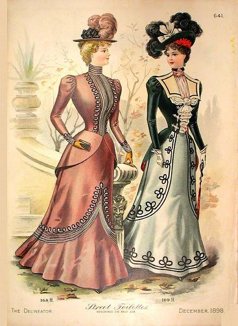 Moda wiktoriańska