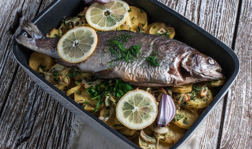 Świeża ryba nie potrzebuje zbyt wielu przypraw