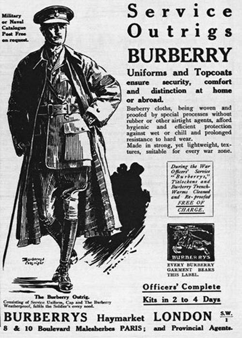"""Nazwa """"trencz"""" wywodzi się z nomenklatury wojskowej"""