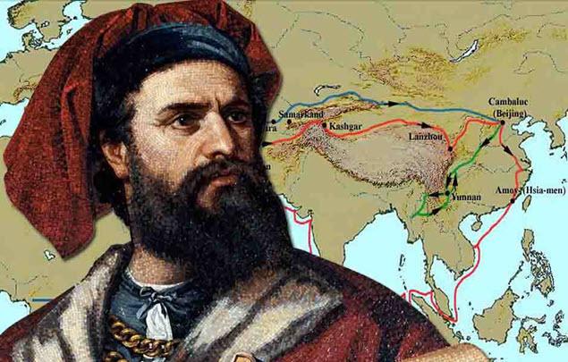 Marco Polo był pierwszym Europejczykiem, który zetknął się z chińską porcelaną