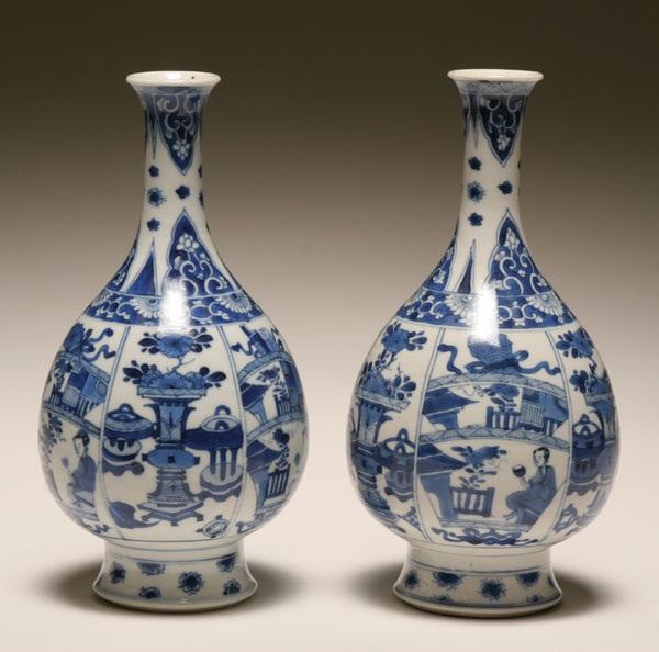 Przykład chińskiej porcelany
