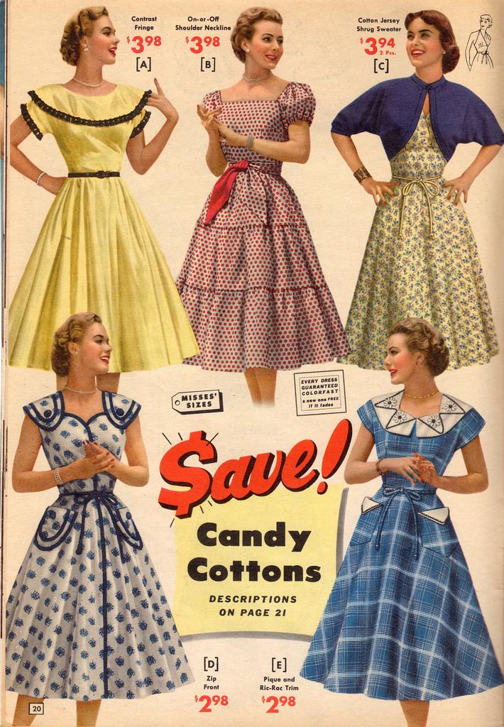 Sukienki w stylu tal 50 w groszkowy deseń, nadająstylizacji charakteru vintige