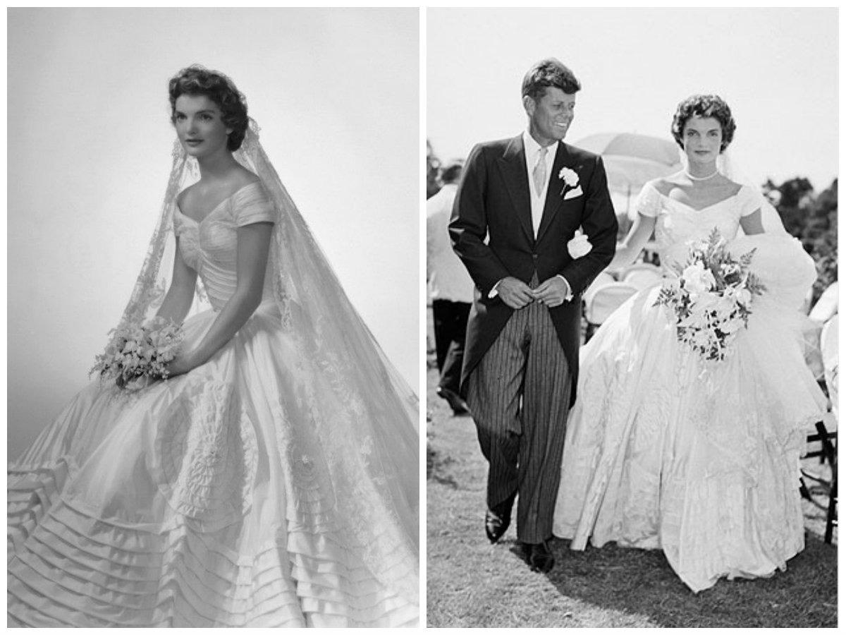 Suknia ślubna Jacqueline Kennedy