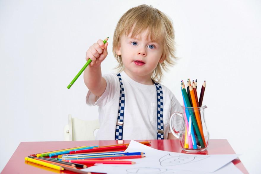 Kolorowanie przygotowuje malca do roli ucznia