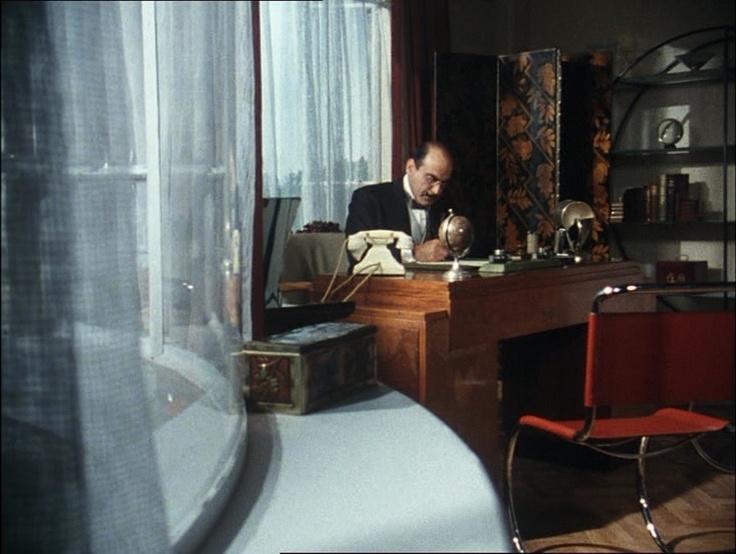 Biuro słynnego detektywa Herculesa Poirota utrzymano w stylu art deco