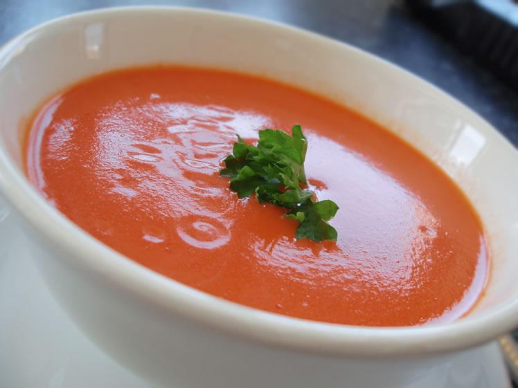 Zupa czosnkowo-paprykowa