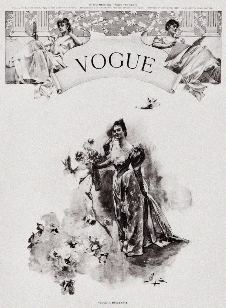 Nazwa Vogue z francuskiego znaczy moda