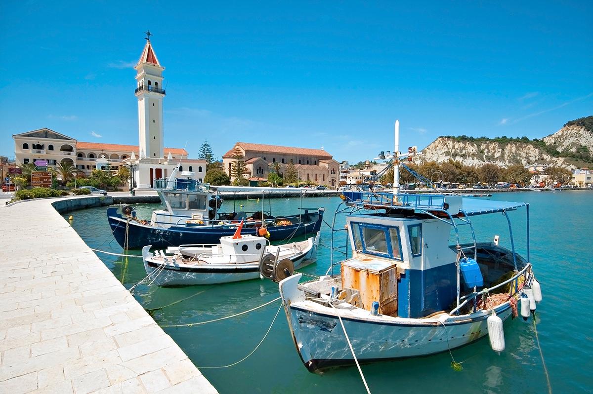 Port w Zakynthos