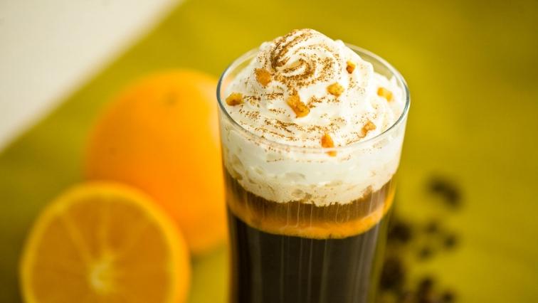 Kawa z pomarańczą