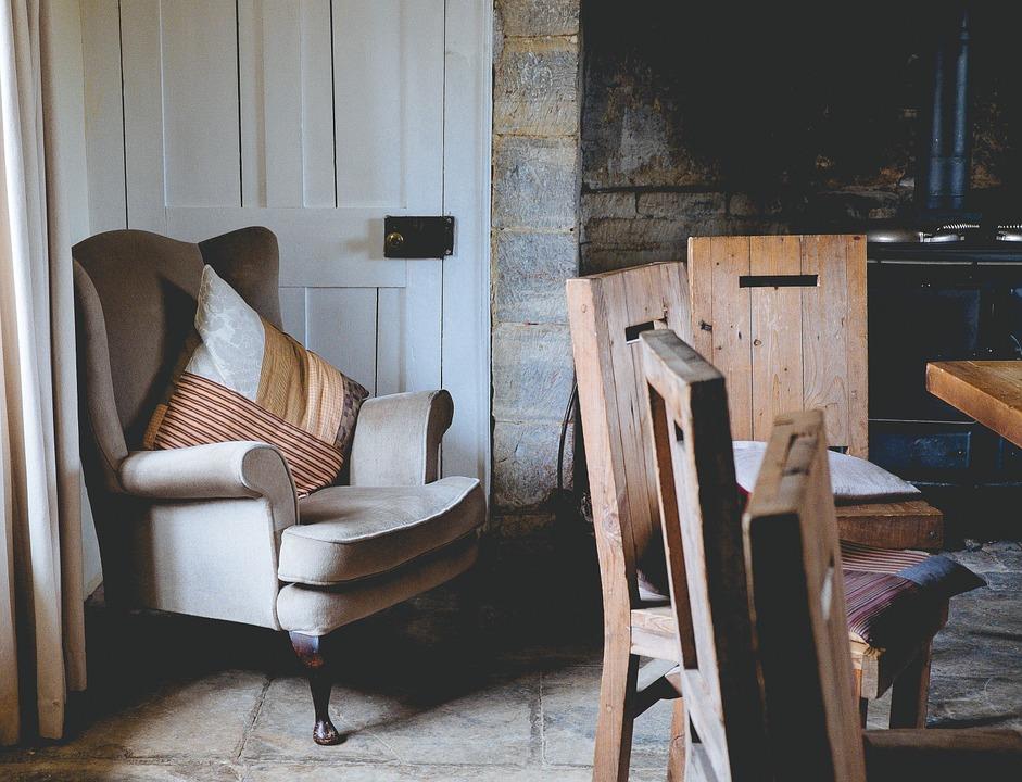 Fotel uszak wywodzi się z chłodnej XVII-wiecznej Angli