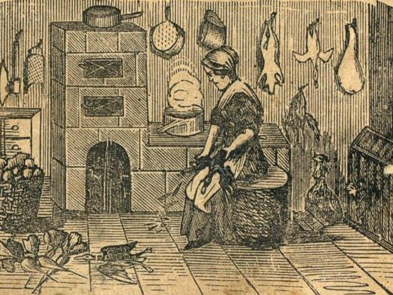 Wiele cennych kulinarnych wskazówek znajdziemy w starych książkach kucharskich