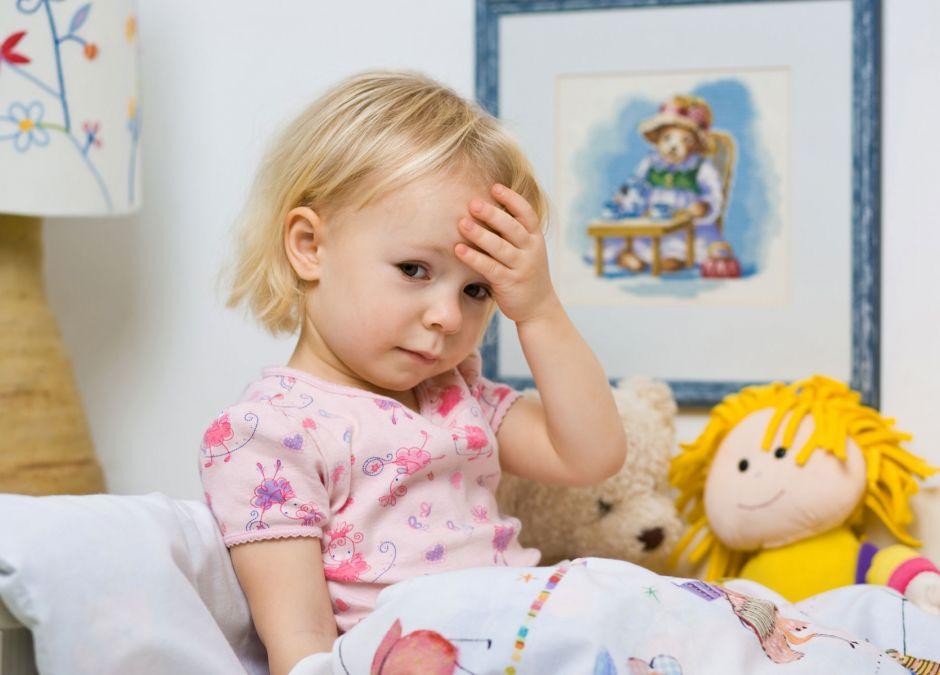 Chore dziecko powinno zostać w domu