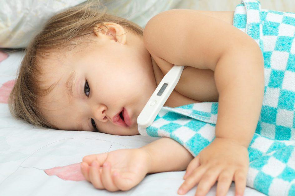 Gorączka u dziecka
