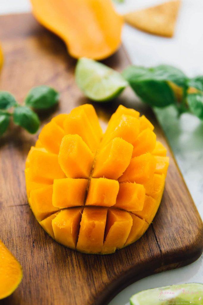 Pokrojony owoc